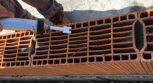 La construction d'une maison en brique en Vendée se réalise par Mandin Construction